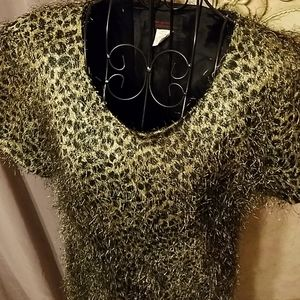 Leopard print dress eyelash Cosplay Prom